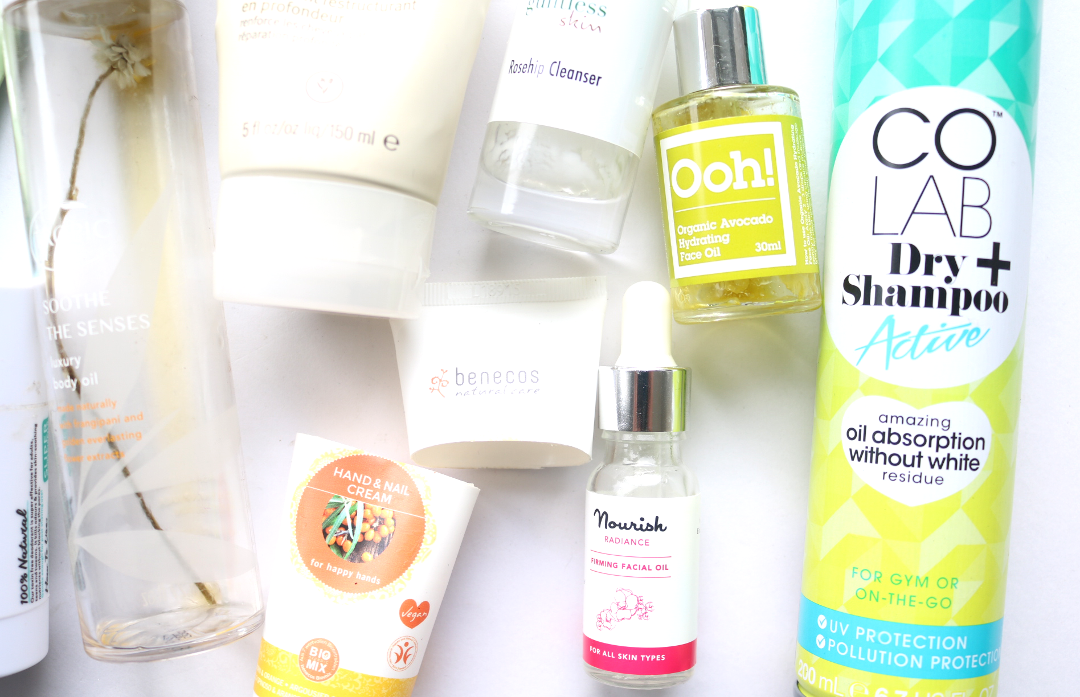 January Empties: Products I've Used Up