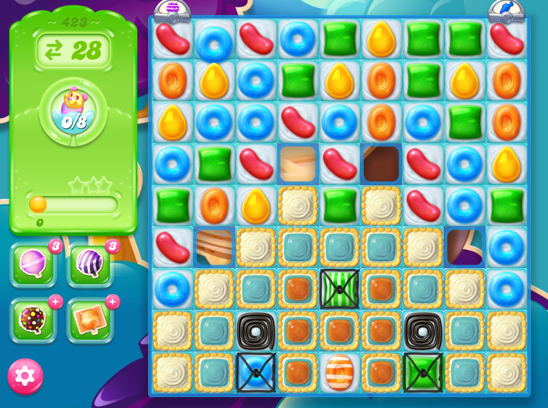 Candy Crush Jelly Saga 423