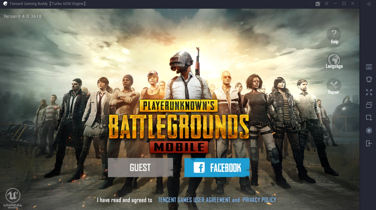 Main PUBG Mobile di Laptop PC Tanpa Bluestack, Nox, dll