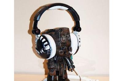 Audífonos estilo Steampunk
