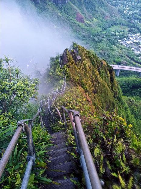 Haiku Stairs Stairway to Heaven Hawaii