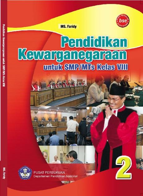 Download Buku Siswa KTSP SMP dan MTs Kelas 8 Pendidikan Kewarganegaraan