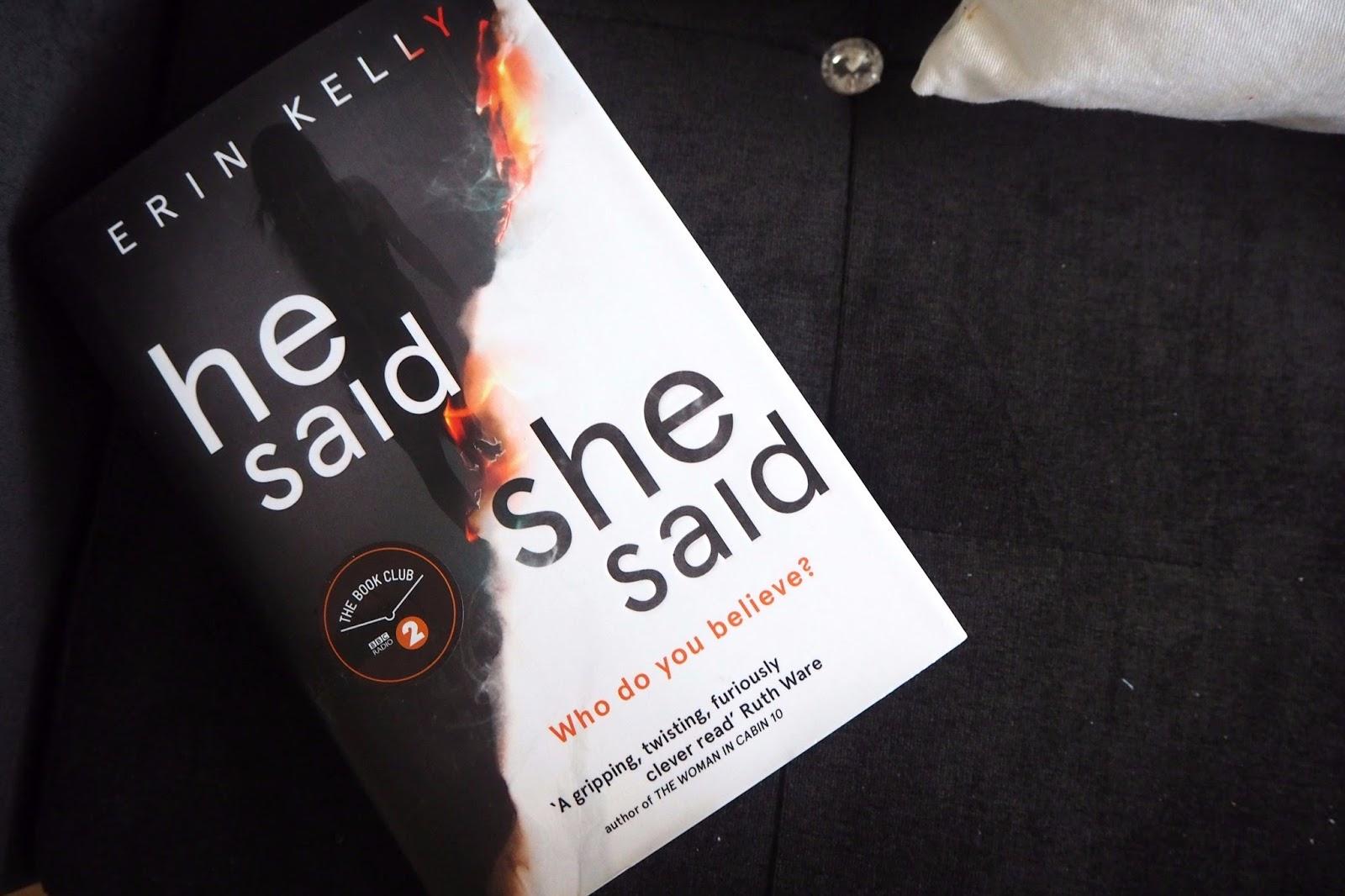 He Said, She Said Book