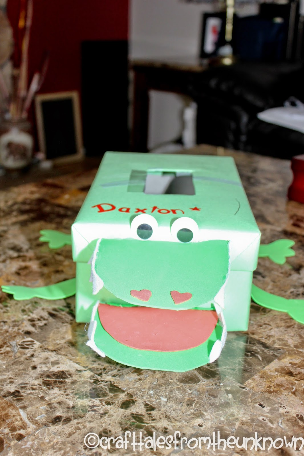 dolittle wanted an alligator he is so excited to take his box to school