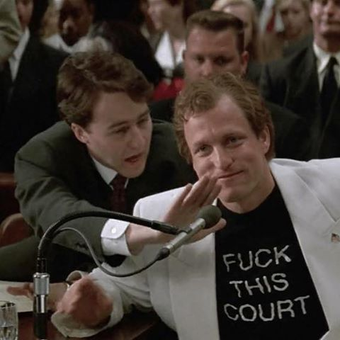 People vs Larry Flynt 'FUCK THIS COURT' T-Shirt. PYGOD.com
