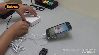 Setrus chuyên gia chống trộm điện thoại Android