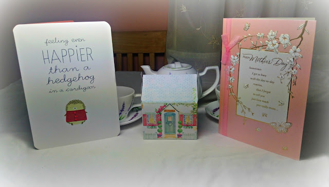 A selection of Mother's Day cards from Hallmark.