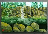 Lukisan Cat Minyak Landscape