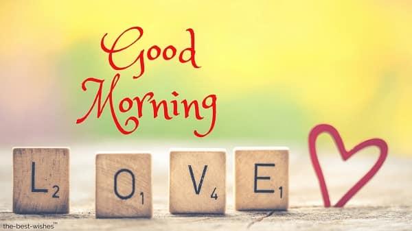 sweet good morning