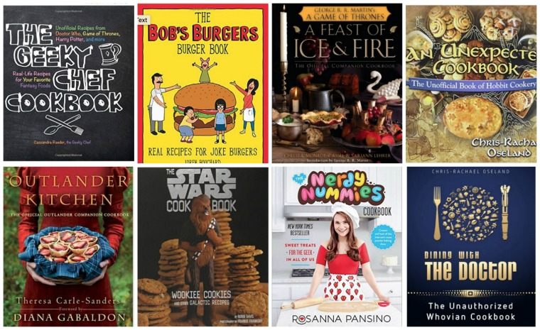 Cookbooks for Fandom Foodies Gifts