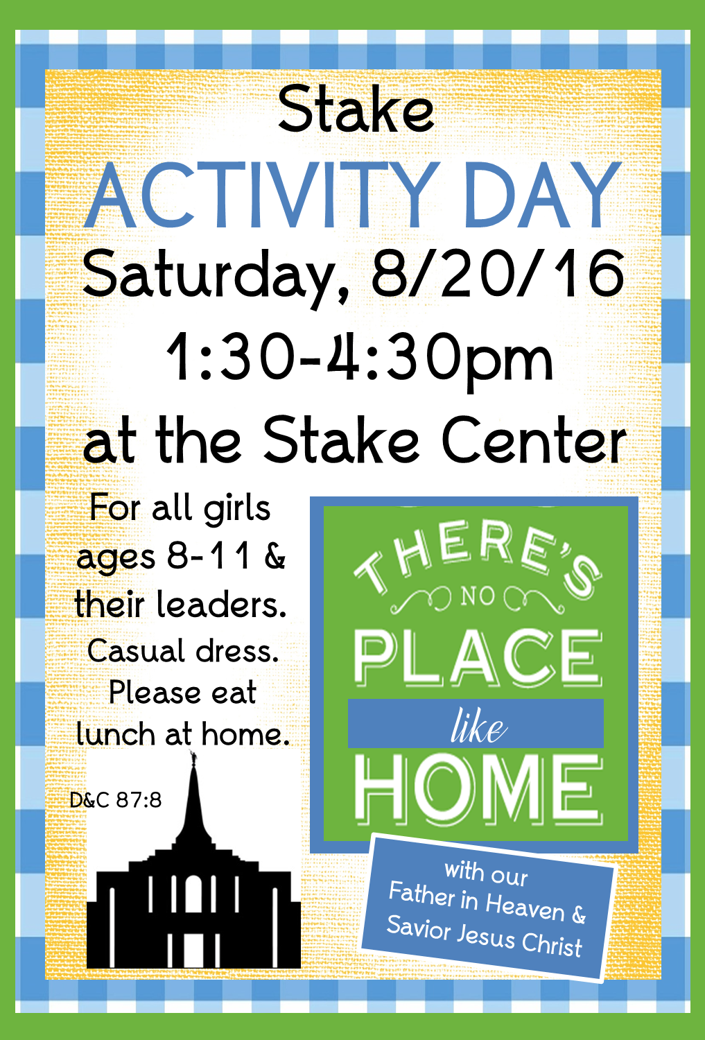"""Strong Armor: Stake Activity Day - """"There's No Place Like ..."""