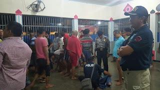 Petugas Gabungan Razia Rutan di Medan, Sabu Hingga Senjata Tajam Disita