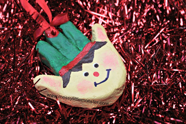 Christmas elf craft for kids.