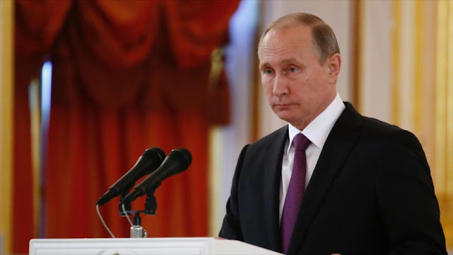 Putin condena 'degradación evidente' de democracia en Occidente