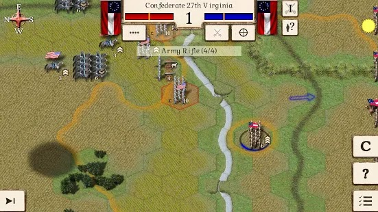 Great battles of the american civil war Apk+Data Free on Android Game Download