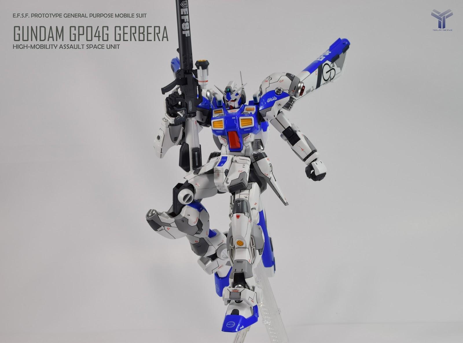 Custom Build Re 100 Rx 78 Gp04g Gundam Gerbera