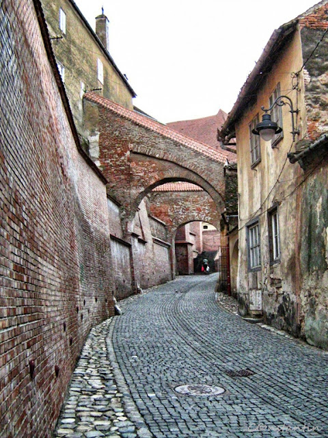 Sibiu - Cãlãtor pe strãzile cetãţii medievale - blog FOTO-IDEEA