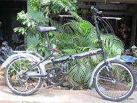 1 Sepeda Lipat TwoWheel 6 Speed Shimano 20 Inci