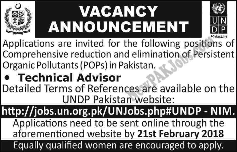 Jobs in UNDP Pakistan United Nations Development Program, Online Apply Today Express Newspaper Ad