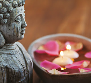 espaço para meditação