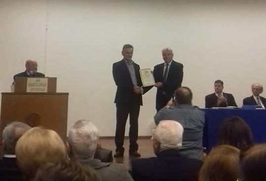 Βραβείο από την Ένωση Ελλήνων Λογοτεχνών για τον Θεσπρωτό συγγραφέα Σωτήρη Λ. Δημητρίου