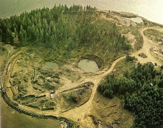 oak Island Canada excavation
