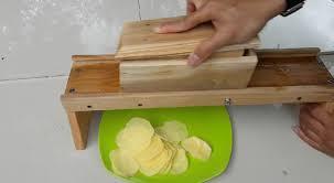 alat pemotong keripik kentang