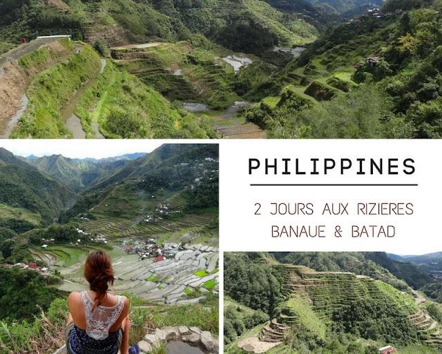PHILIPPINES : 2 jours aux Rizières de Banaue et Batad : infos pratiques, conseils et aventure ! www.by-laura.fr