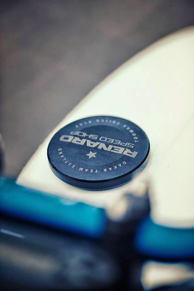 racing caf honda dominator 650 by renard speed shop. Black Bedroom Furniture Sets. Home Design Ideas