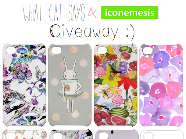 [CLOSED] Giveaway! Iconemesis iPhone Case ♥