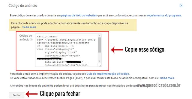 código Adsense