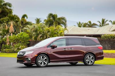 Nouvelle Honda Odyssey 2019 - Caractéristiques, Prix, Photos