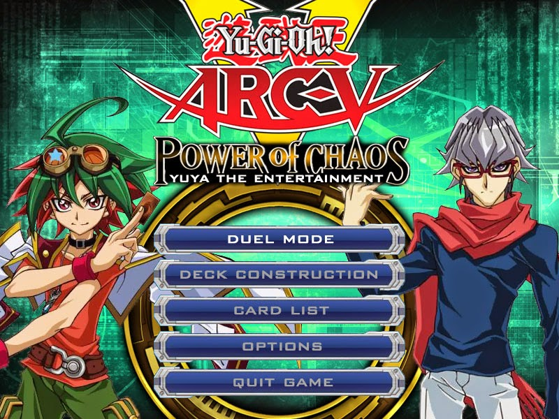 GI OH GRATUIT TÉLÉCHARGER POWER CHAOS YU PC OF GX