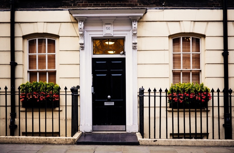 Home With Security Doors