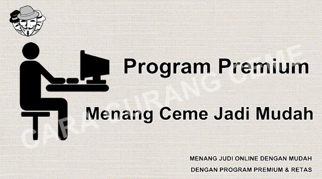 Program Premium Menang Ceme Jadi Mudah