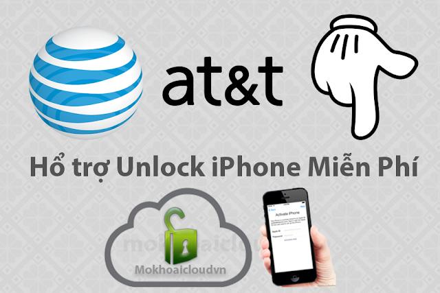 Unlock iPhone AT&T Miễn Phí