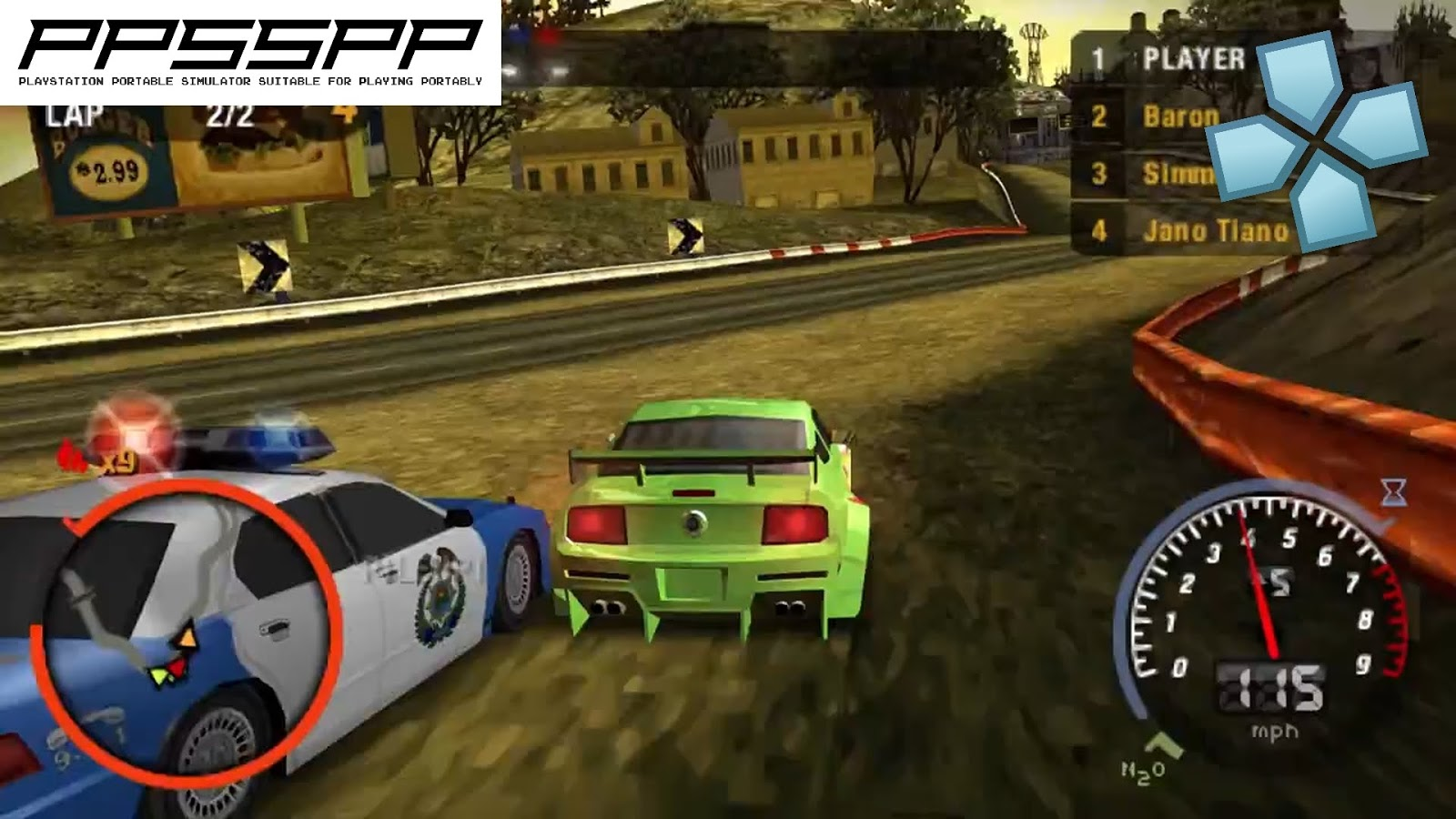 need for speed most wanted ppsspp android iso download