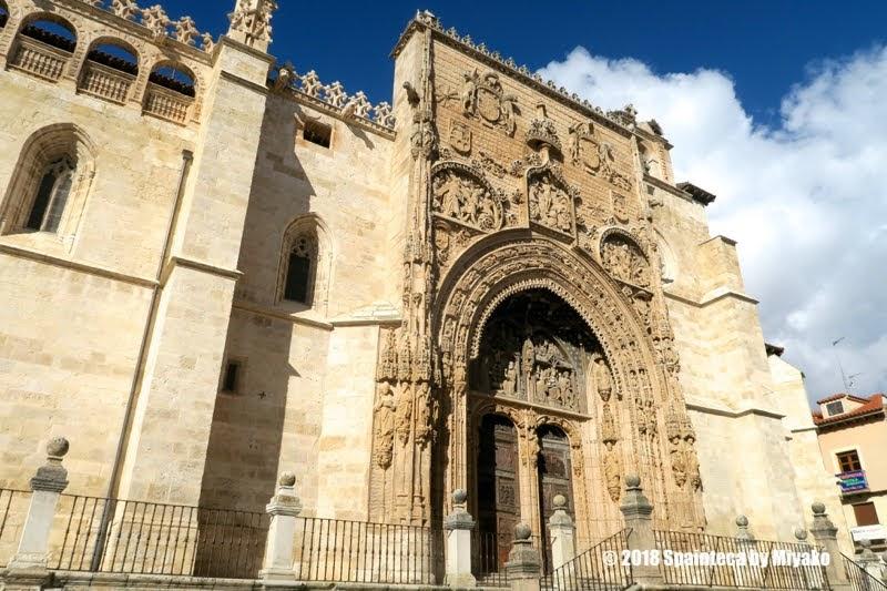 Aranda de Duero  アランダ·デ·ドゥエロのサンタ・マリア・ラ・レアル教会