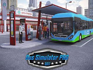 Download Bus Simulator PRO 2017  Apk Mod (Money) Offline