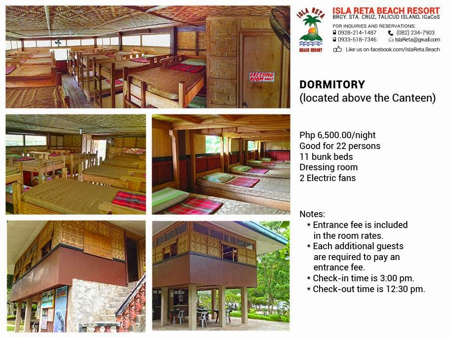 Isla Beach Resort Room Rates