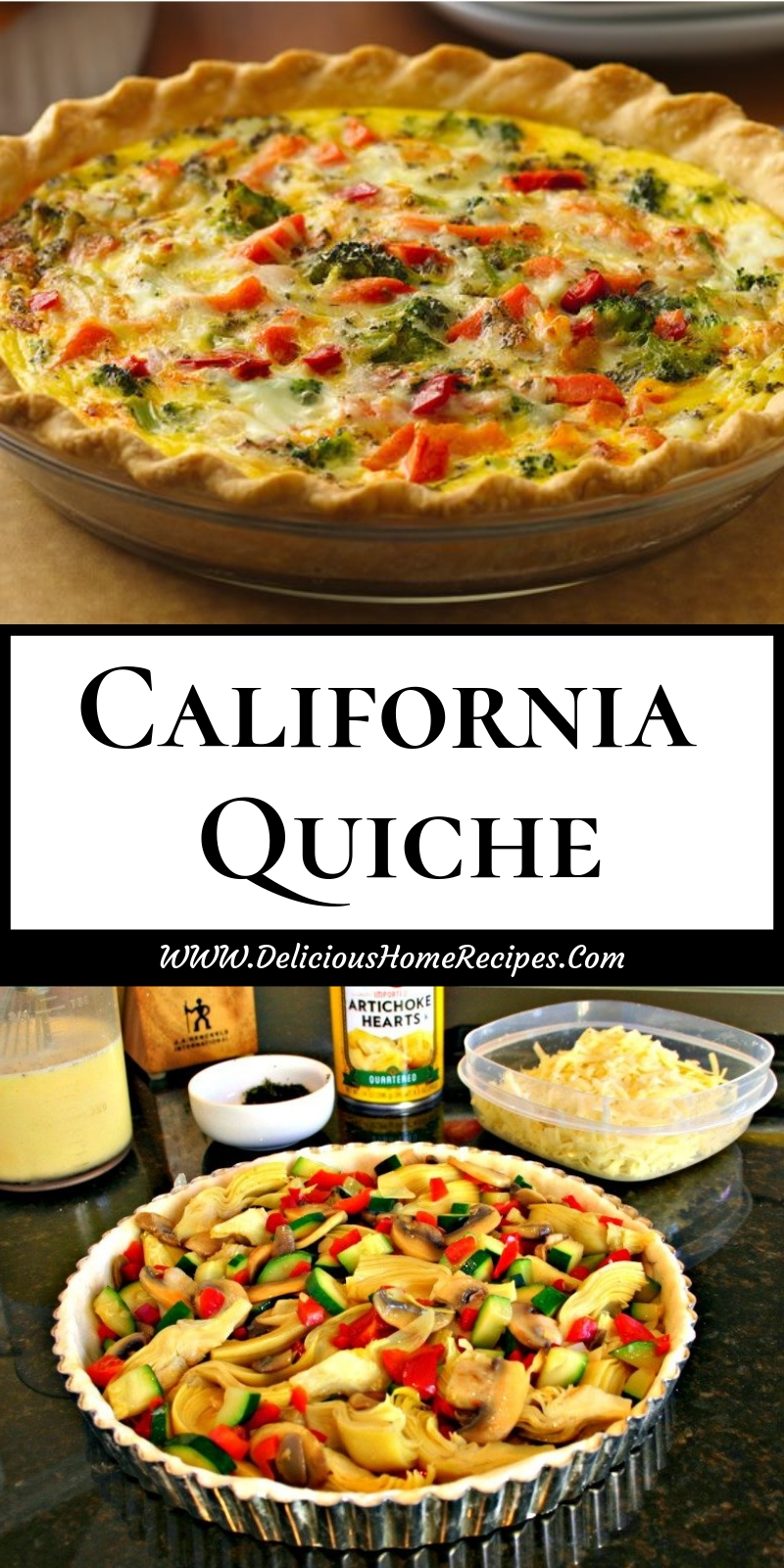 California Quiche