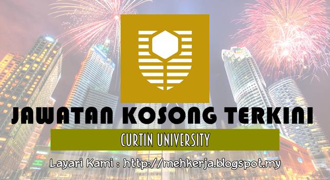Jawatan Kosong Terkini 2016 di Curtin University