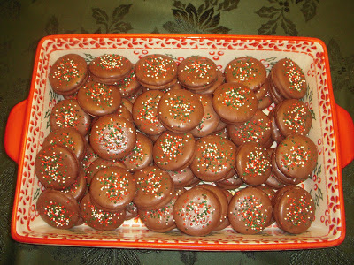 Margaret's Morsels   Chocolate Covered Ritz Cracker Cookies