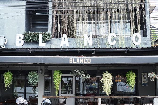 Blanco Coffee di jalan Kranggan, Yogyakarta