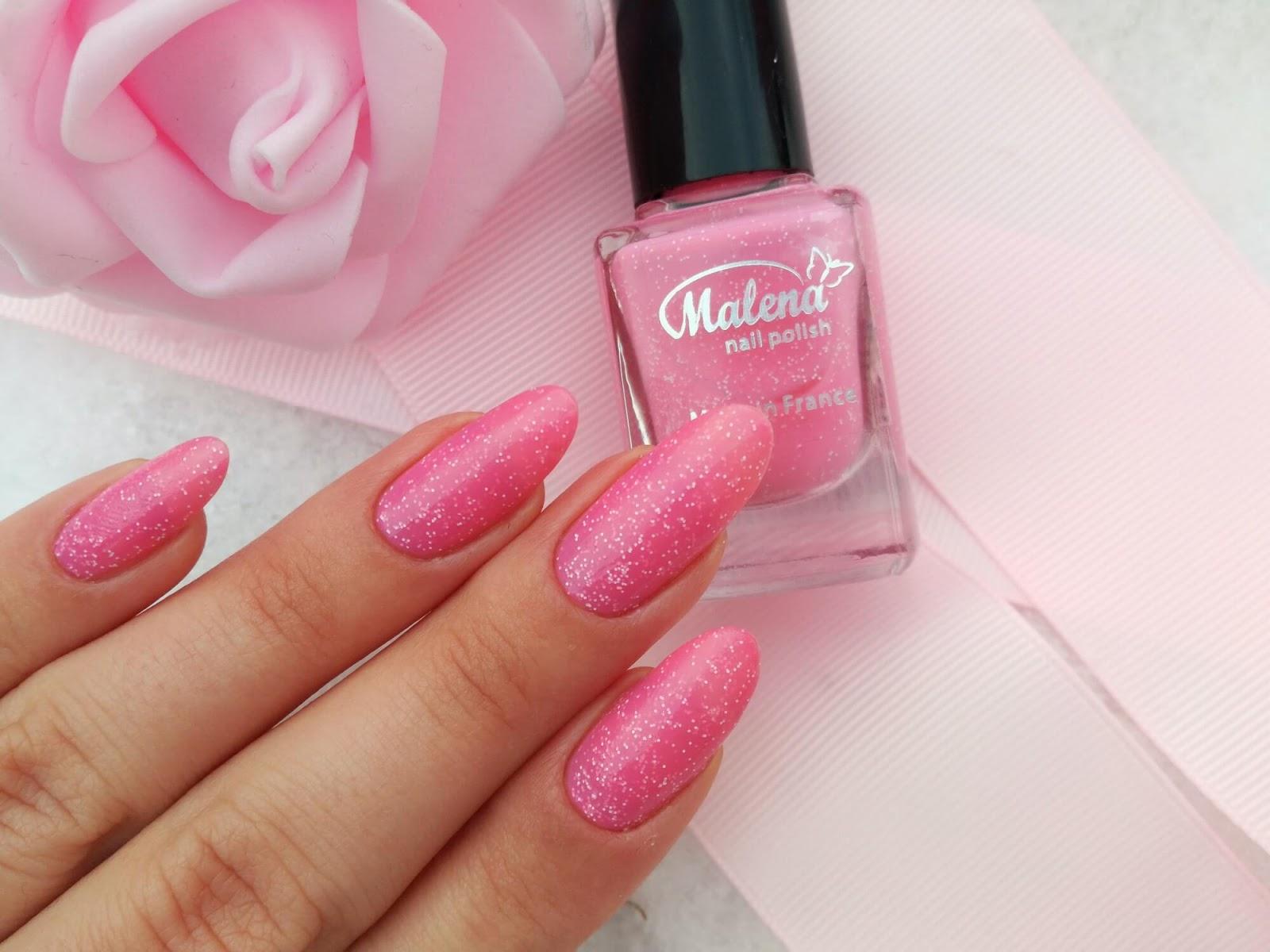 różowy lakier malena 97