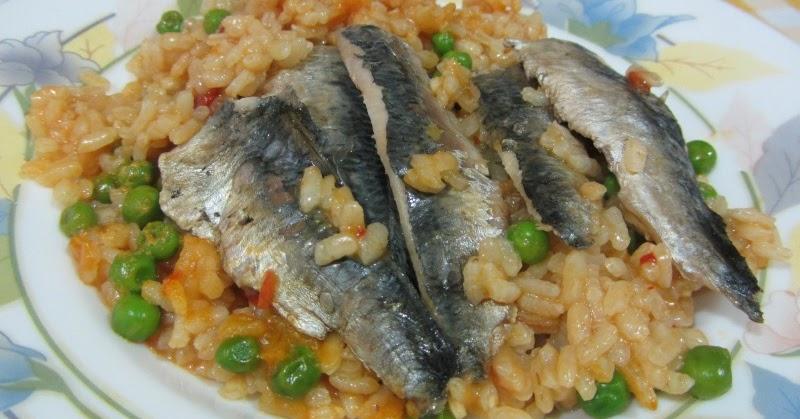 La cocinera de b tulo arroz con sardinas - Como cocinar sardinas ...
