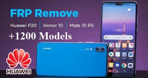 Huawei FRP - Google Account Lock Removal/Bypass Service at