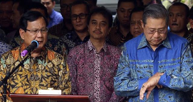Mengapa SBY Tak Rela Prabowo Menjadi Presiden?