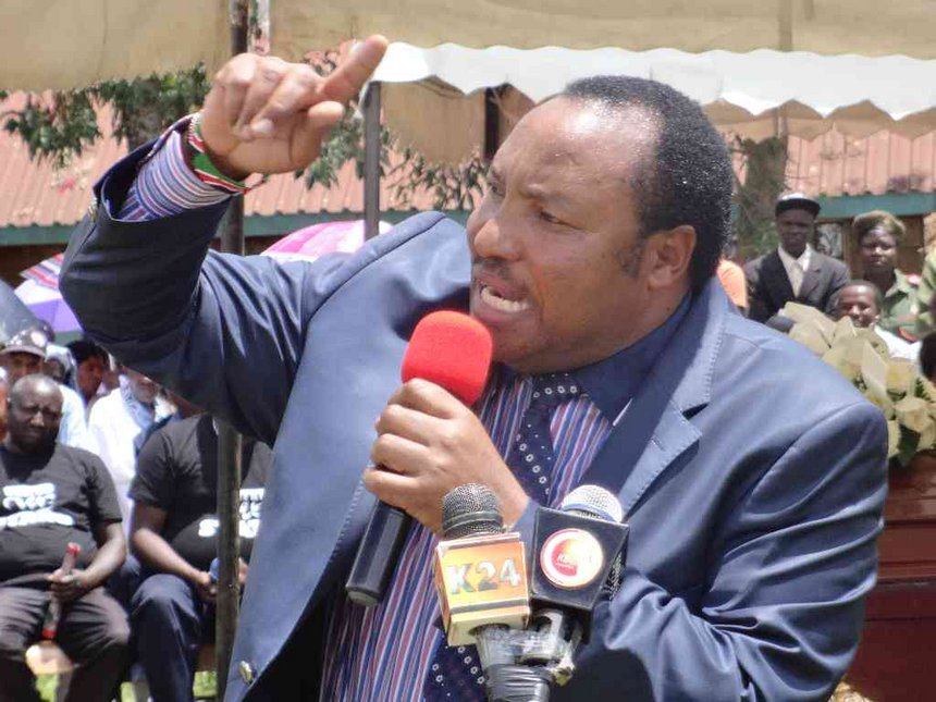 Am A Proud Daughter Of Four Fathers: Waititu Murders English During Monica Kimani's Requiem Mass