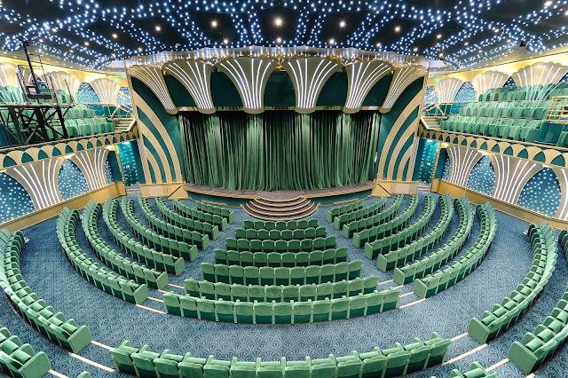 Teatro crucero MSC MAgnífica